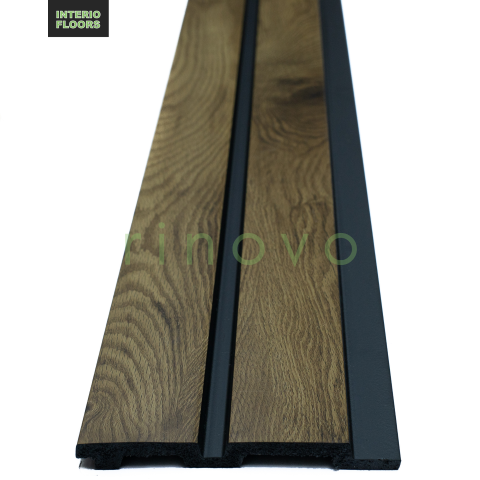 oak fluted panel